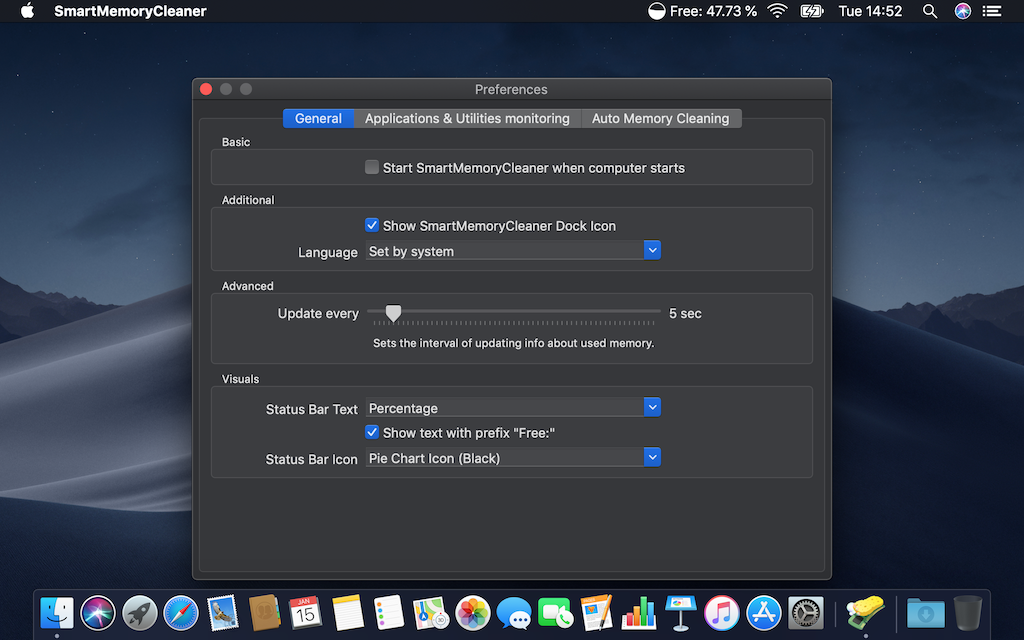 SmartMemoryCleaner 2.2.1 Mac 破解版 智能内存清理工具-麦氪派(WaitsUn.com | 爱情守望者)